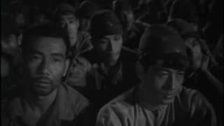 映画「暁の脱走」より (1950年 主演 山口淑子=李香蘭、池部良) 李香...