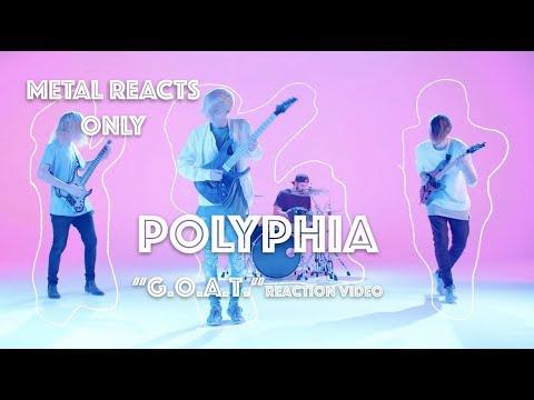 "POLYPHIA ""G.O.A.T."" Reaction Video | Metal Reacts Only | MetalSucks"