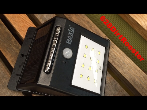 Baxia Technology Wireless Solar Charged LED Light Review and I'm Not Really A Beekeeper