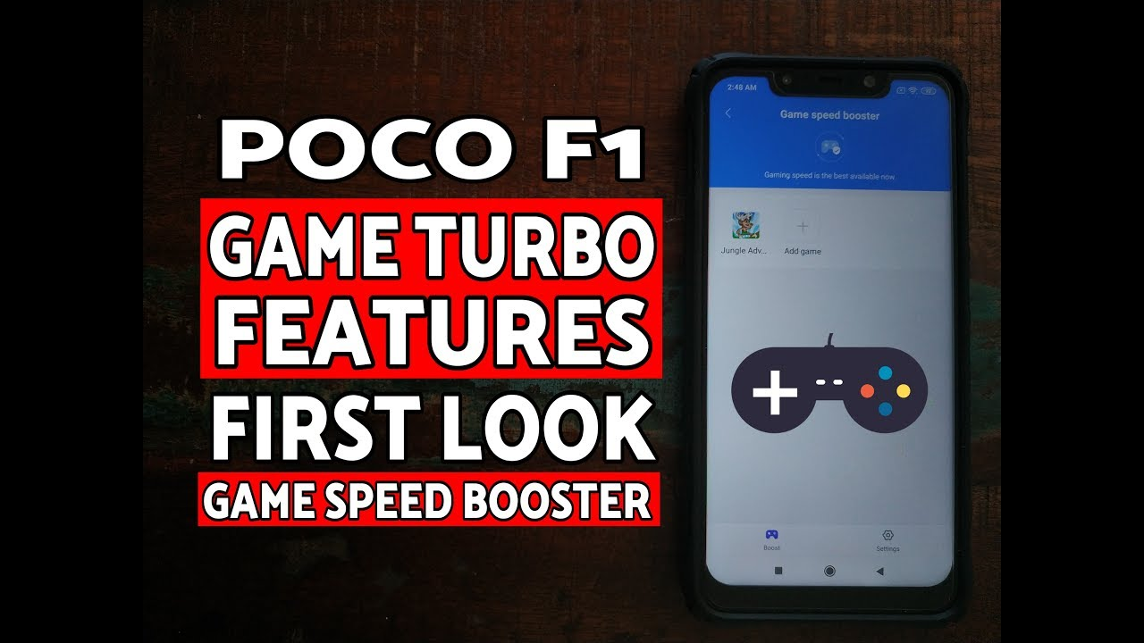 First Look Poco F1 Game Turbo Mode (MIUI Beta)