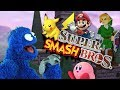 Revisiting the Smash Bros. Games of Yesteryear