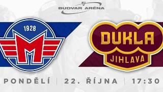 ČEZ Motor České Budějovice - HC Dukla Jihlava 4:1