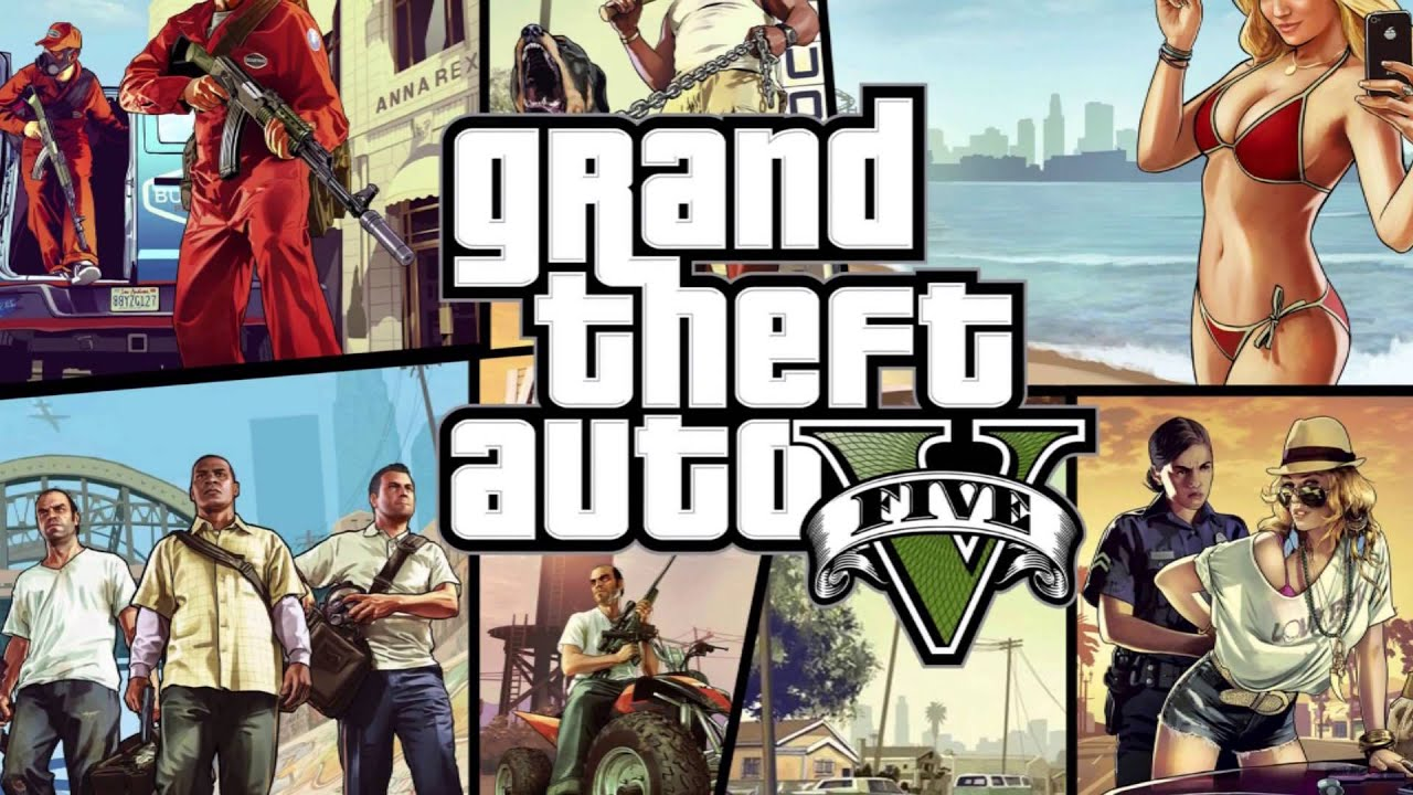 Grand Theft Auto 5 Wallpapers (Slideshow) [HD]