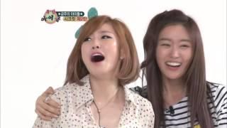주간아이돌 - (WeeklyIdol EP.63) ZE:A Gwanghee Thinks Who Is The Prettiest Girl In Secret? Part1