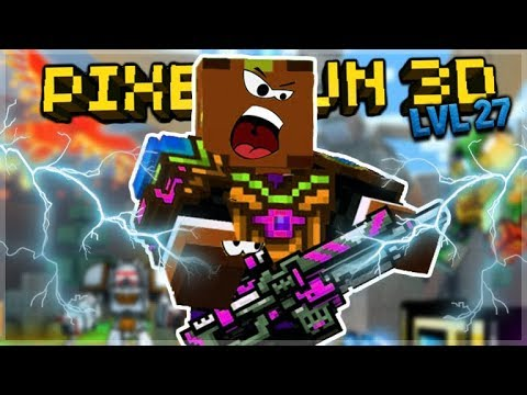 OMG! LEVEL 27 IS THE BEST RANK!! Pixel Gun 3D
