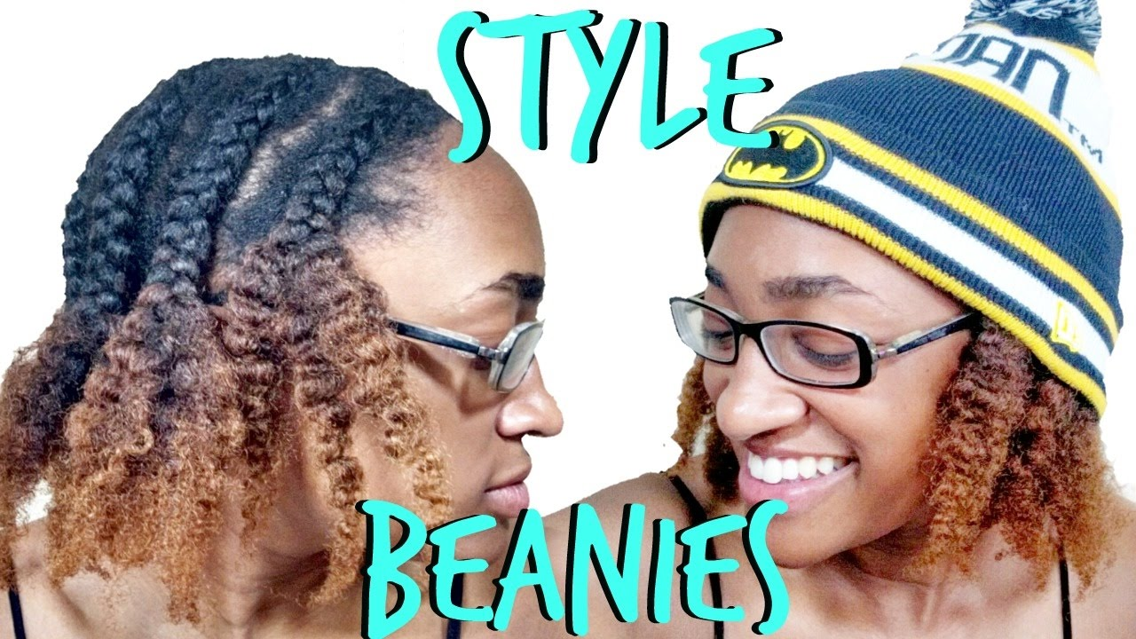 How To Style Curly Hair Under Beanies
