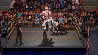 WWE 2K19 punisher & gung ho v sweet tooth & lobo tornado tag
