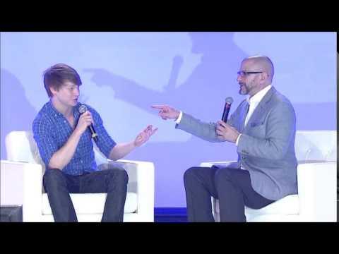 Calum Worthy Interview with Michael David Palance Русские субтитры