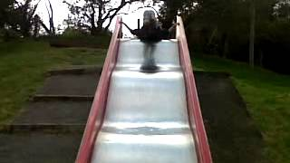 top 5 ways to go down a rubish slide !!!! Thumbnail