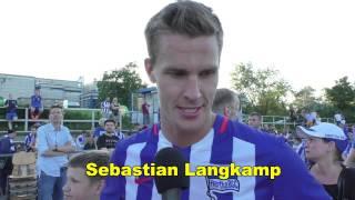 Interviews Pal Dardai und Sebastian Langkamp