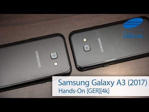 Samsung Galaxy A3 2017 Hands-on deutsch 4k