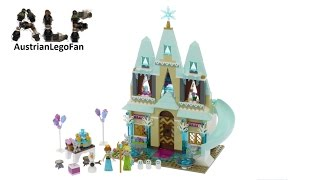 Lego Disney Princess 41068 Arendelle Castle Celebration - Lego Speed Build Review