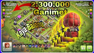 Yeni Asker Kaya Balonu Clash of clans