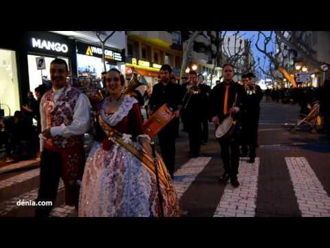 Fallas Dénia 2017: Desfile de bandas