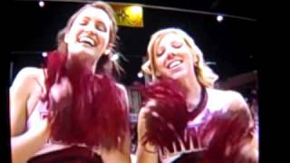 New Mexico State Cheerleaders on ESPN Plus