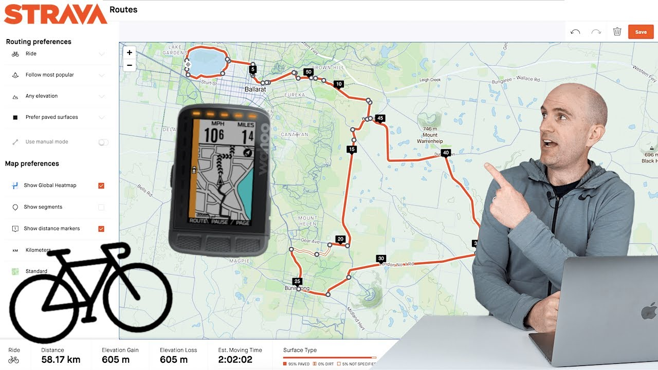 The BEST GPS Route Creation Tip w/ Strava Route Builder 2.0