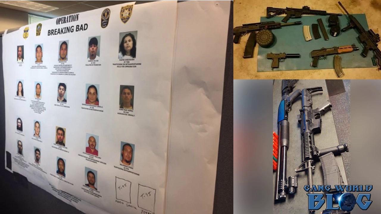 30 Nortenos arrested in Gwinnett County, Goergia