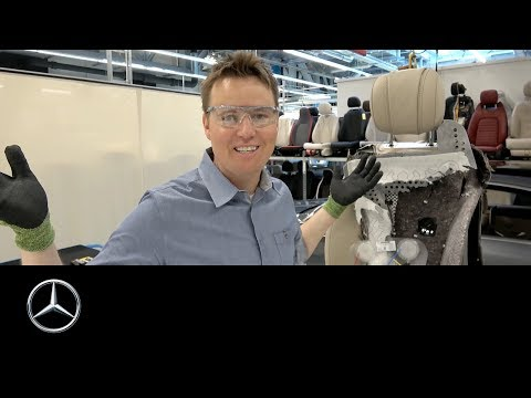 What's Inside a Mercedes-Benz S-Class Seat?   Dan & Lincoln Markham (What's Inside)
