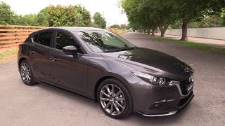 New 2018 Mazda 3 SP25 Hatch Presentation - Machine Gray