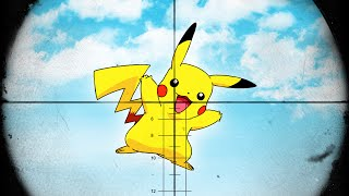SNIPERS vs. PICKACHU! (GTA 5 Funny Moments)