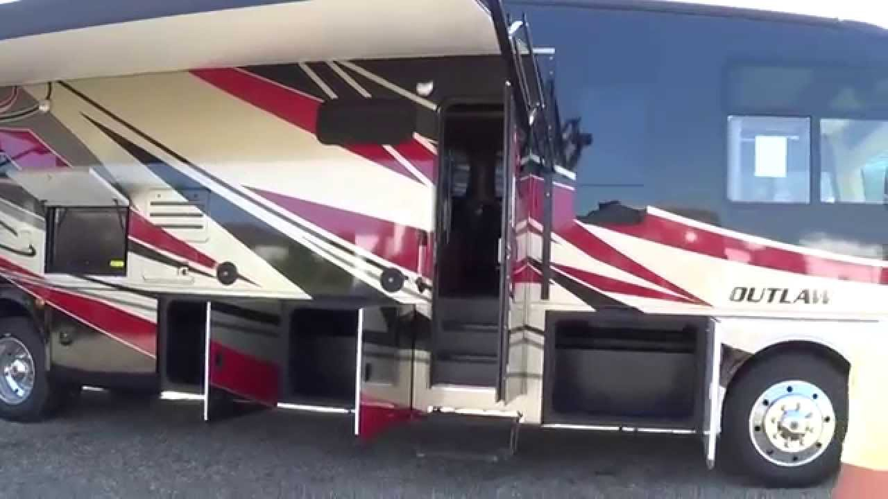 2015 Thor Outlaw Toyhauler At Total Value Rv In Elkhart Indiana