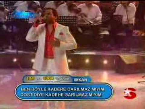 Popstar Erkan Darilmazmiyim