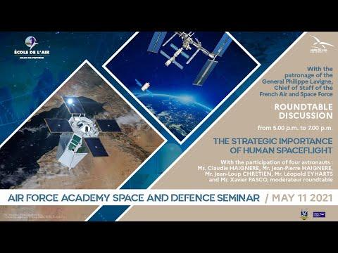 Séminaire « Importance stratégique des vols spatiaux habités » - École de l'air