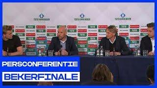 BEKERFINALE | Persconferentie Willem II - Ajax
