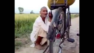 Indian old man singing - GREAT TALENT