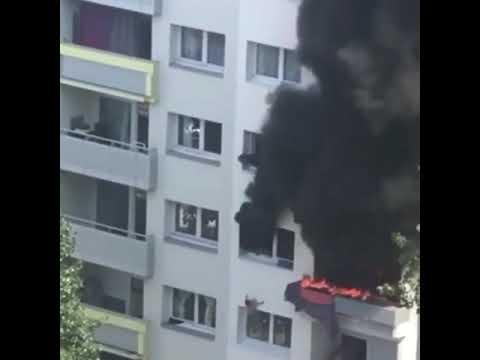 Incendie à Grenoble : deux enfants sautent du 3e étage pour échapper aux flammes et sont réceptionné