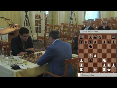 Beautiful Queen Sacrifice! Anand Crushes Oleg Skvortsov | Zurich Chess Challenge 2017