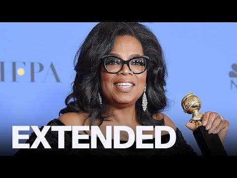 Oprah Winfrey Talks The Time's Up Movement Backstage   GOLDEN GLOBES
