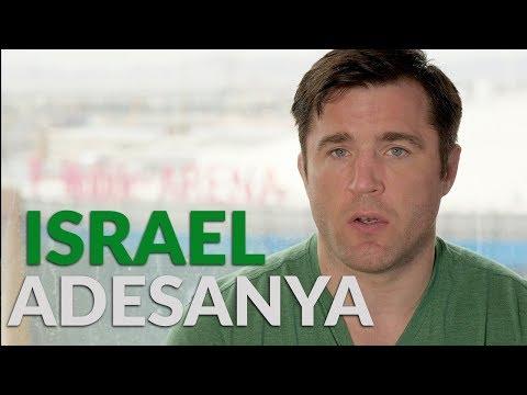 Israel Adesanya answered a lot of questions...