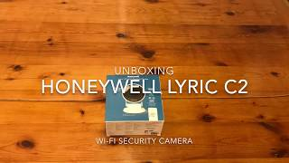 Unboxing Honeywell Lryic C2 Wi-Fi Security Camera