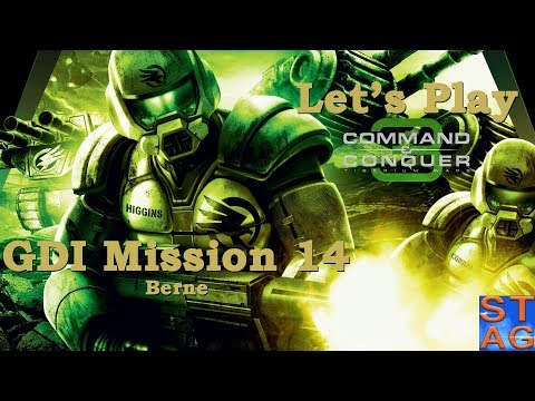 Berne (GDI Mission 14) - Let's Play Command & Conquer 3: Tiberium Wars