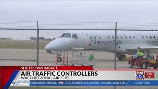 Air traffic controllers and the government shutdown