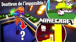 Ce Deathrun Minecraft de l'impossible est fou sur Fortnite Créatif !!
