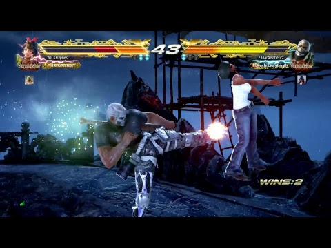 TEKKEN 7 - Bryan Fury Online Ranked Matches #4 - Road to SAVIOR Rank 18 Dan (1080p 60fps) PS4 Pro