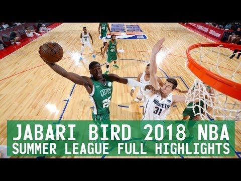 Jabari Bird 2018 NBA Summer League FULL Highlights
