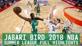 Jabari Bird 2018 NBA Summer League FULL Highlights
