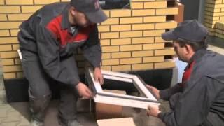 CRH klinkier Murowanie montaż okna w ścianie z klinkieru film instruktażowy