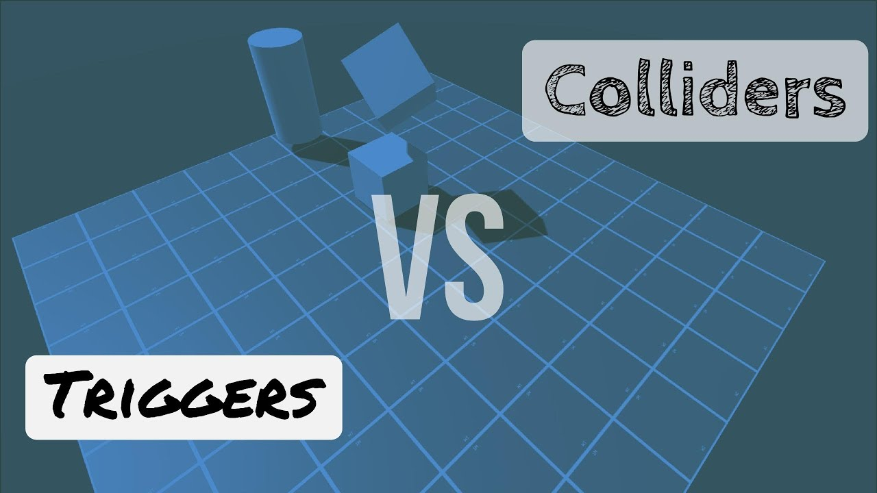 Using Triggers and Colliders in Unity3D (with a little Rigidbody mixed in)