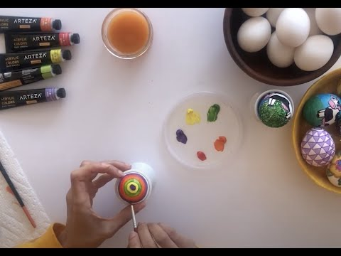 How to Grow a Sabze (sprouts) and Decorate Haftseen Eggs - IN ENGLISH