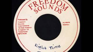 Download Frankie Paul - Right Time + Dub - 7