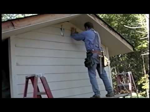 Install Hardie Plank Cement Siding With Hearty Hangers Youtube