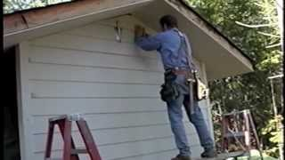 Install Hardie-Plank cement siding with HEARTY HANGERS