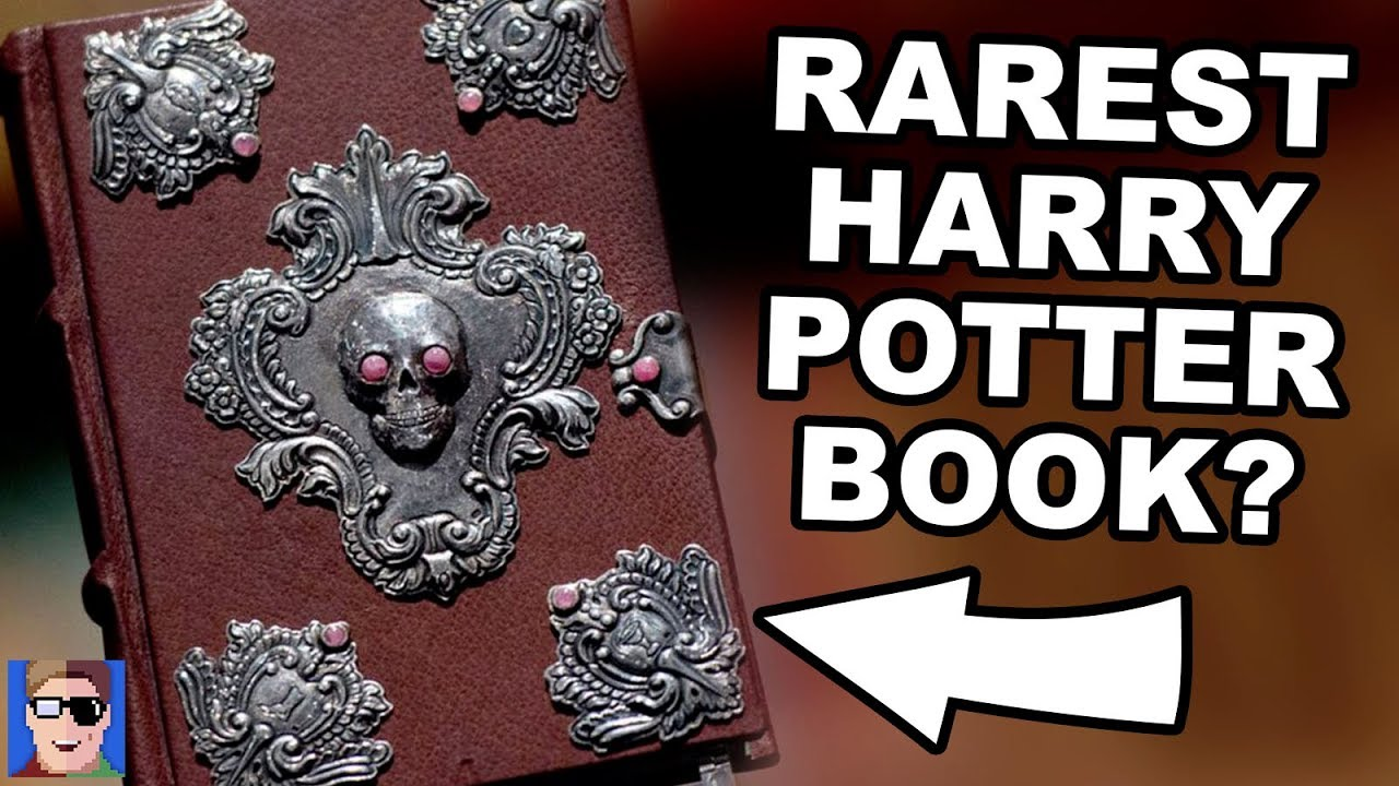 The RAREST Harry Potter Book EVER