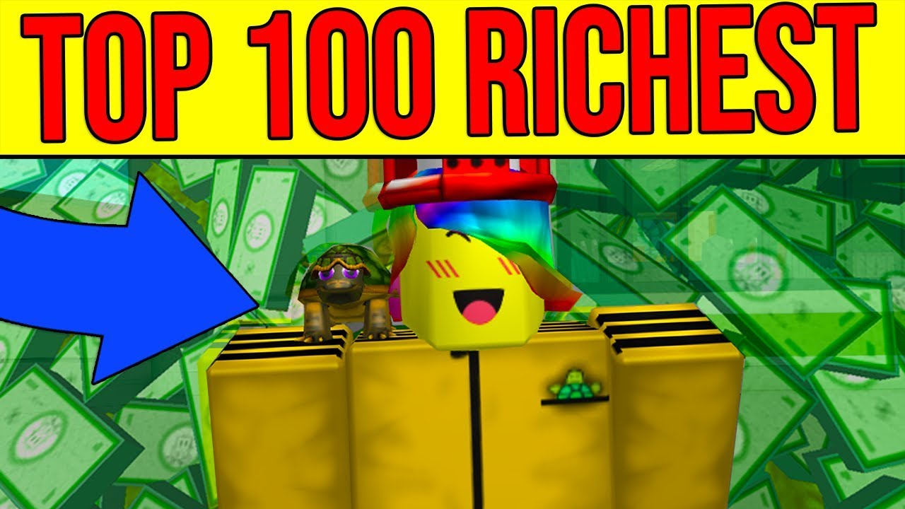 Who Is The Most Richest Roblox Player In The World Becoming The Top 100 Richest Roblox Player 6 Million Robux Youtube