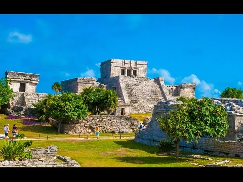 Tulum Mayan Ruins - Cruise Excursion 4K
