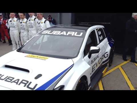 Colin Turkington - Subaru TeamBMR - BTCC Media Day 2016
